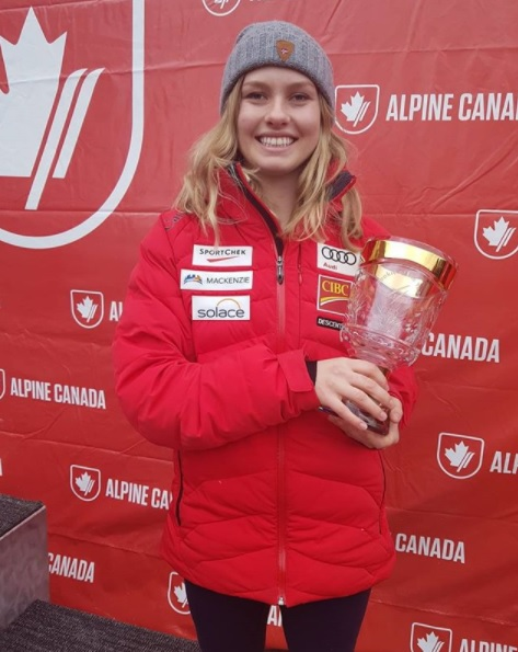 Cranbrook's Sherret wins FIS World Cup Rookie of the Year
