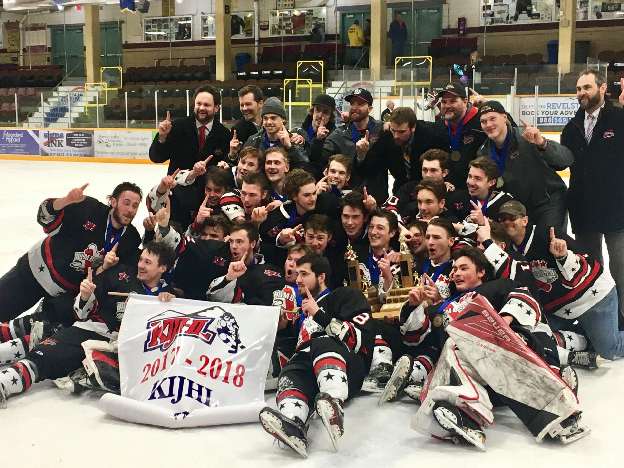 Dynamiters crowned KIJHL Champions