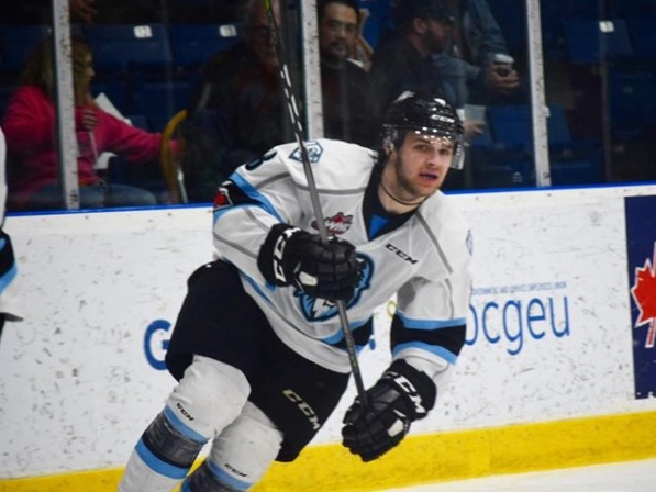 Former ICE F Baer fitting in nicely with ECHL's Rush