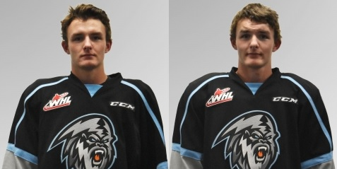Brothers on Kootenay ICE participate in benefit game for Humboldt