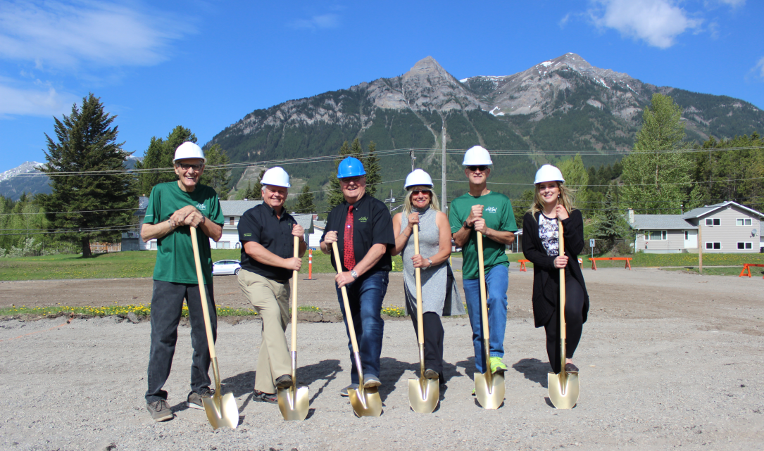 Groundbreaking held for Elkford district office; expected to open 2019