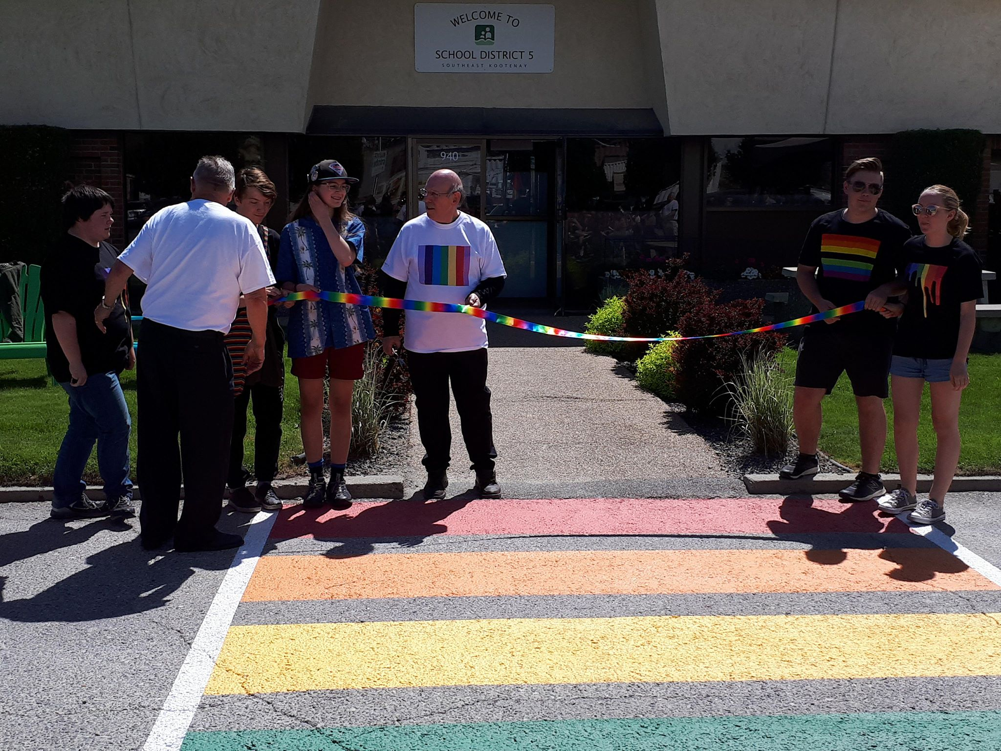 SD5 says more rainbow crosswalks in the works