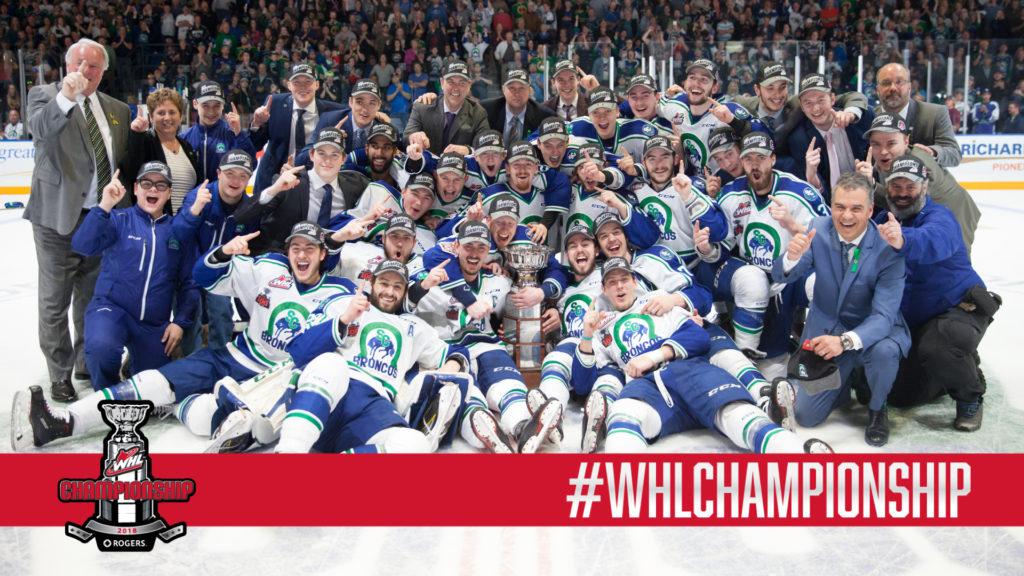 WHL: Broncos claim Ed Chynoweth Cup, first since 1993