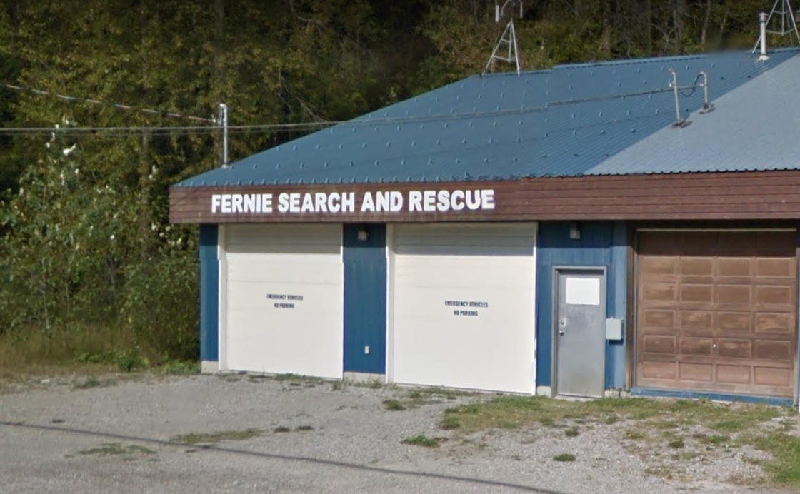 Injured cyclist rescued by Fernie Search and Rescue