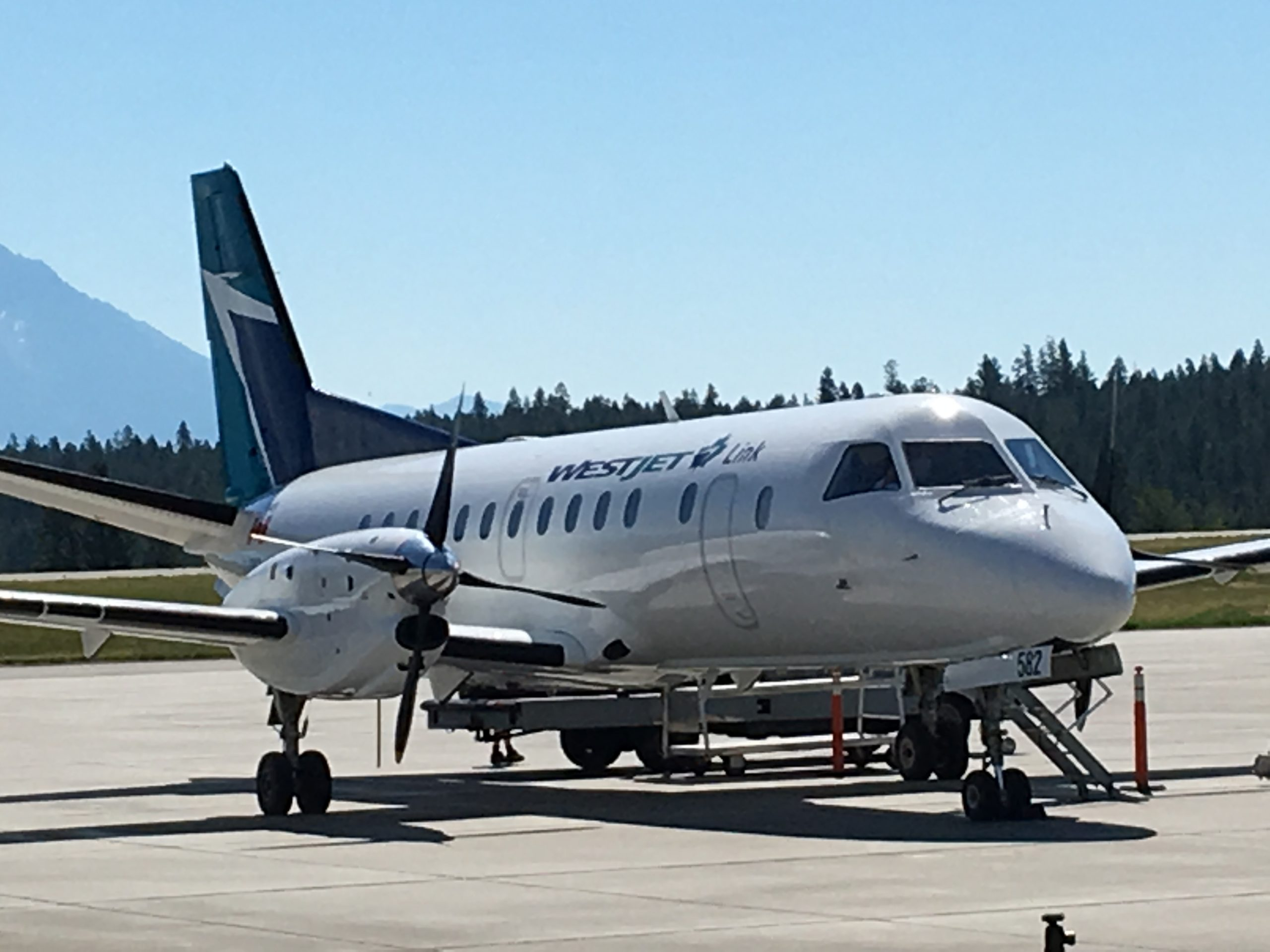 WestJet partnership utilizes smaller aircraft for new Cranbrook to Calgary service