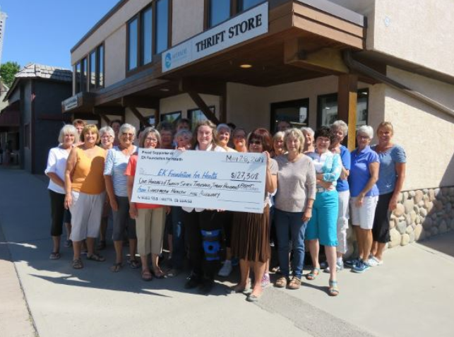 Invermere Health Care Auxiliary donates over $127k to Columbia Valley care facilities