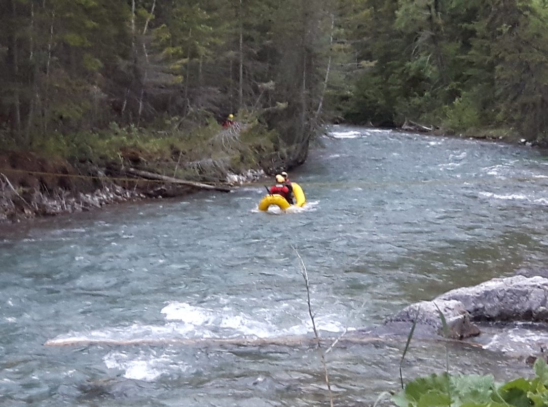 Police, SAR rescue woman from Lussier River