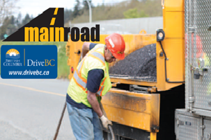 Mainroad conducting pavement repairs in Elko and Jaffray area