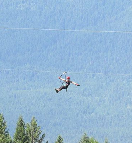 Zipline company hosting unique fundraiser for Columbia Valley SAR