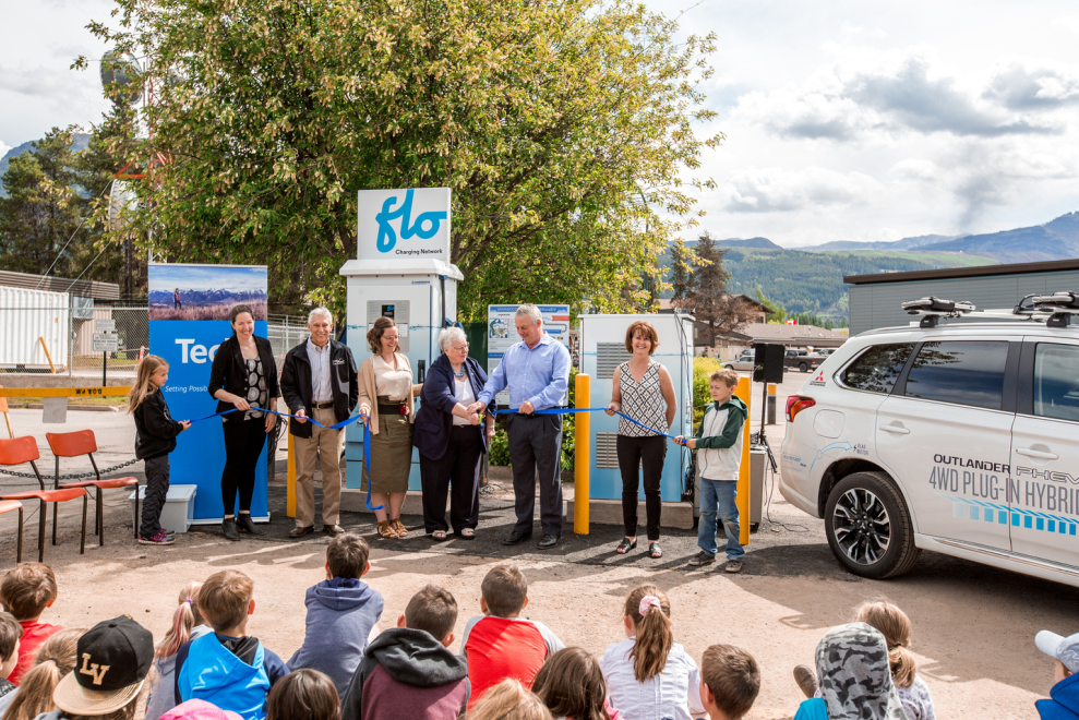 Accelerate Kootenay celebrating completion of Kootenay-wide vehicle charging network