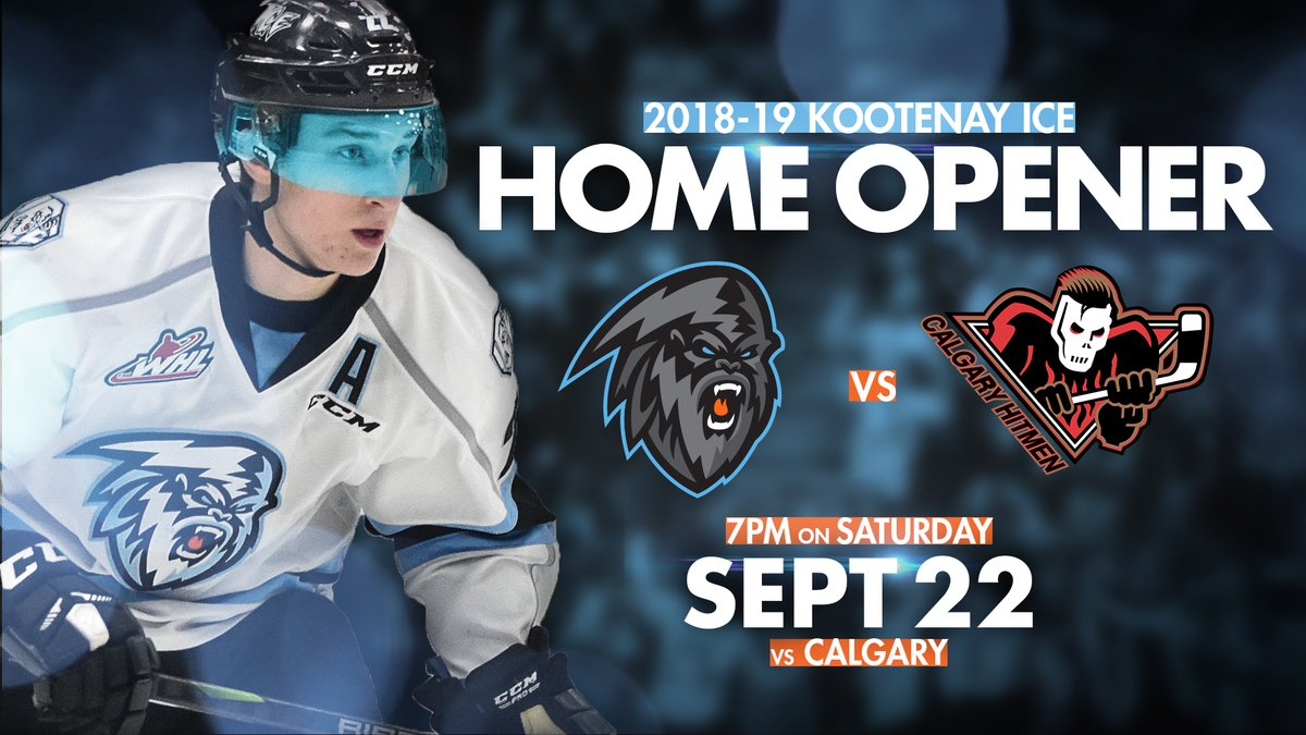 WHL: ICE home opener announced