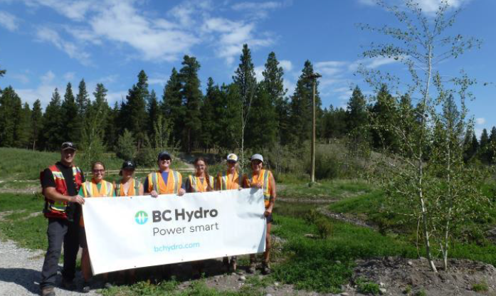 BC Hydro grant provides 38 new trees for Idlewild Park