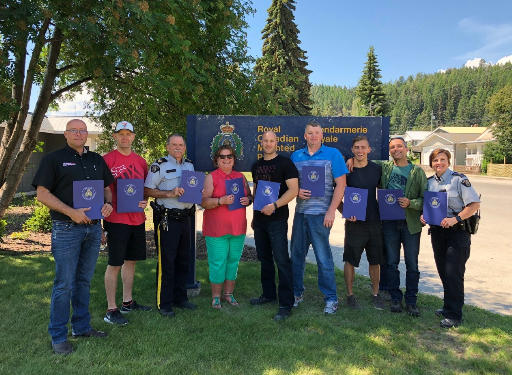 Kimberley RCMP officers recognized for support with 2017 wildfires