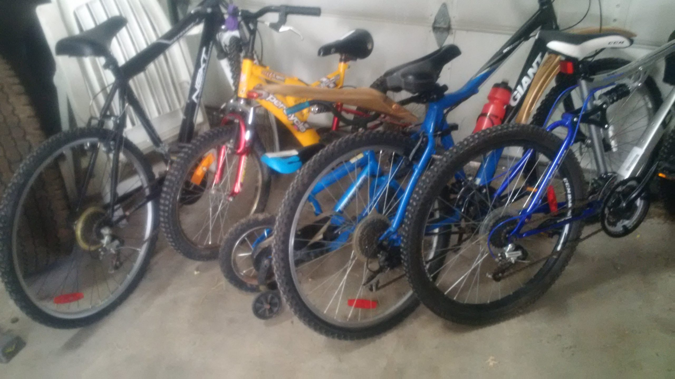 Kimberley RCMP hope to reunite lost bikes with proper owners