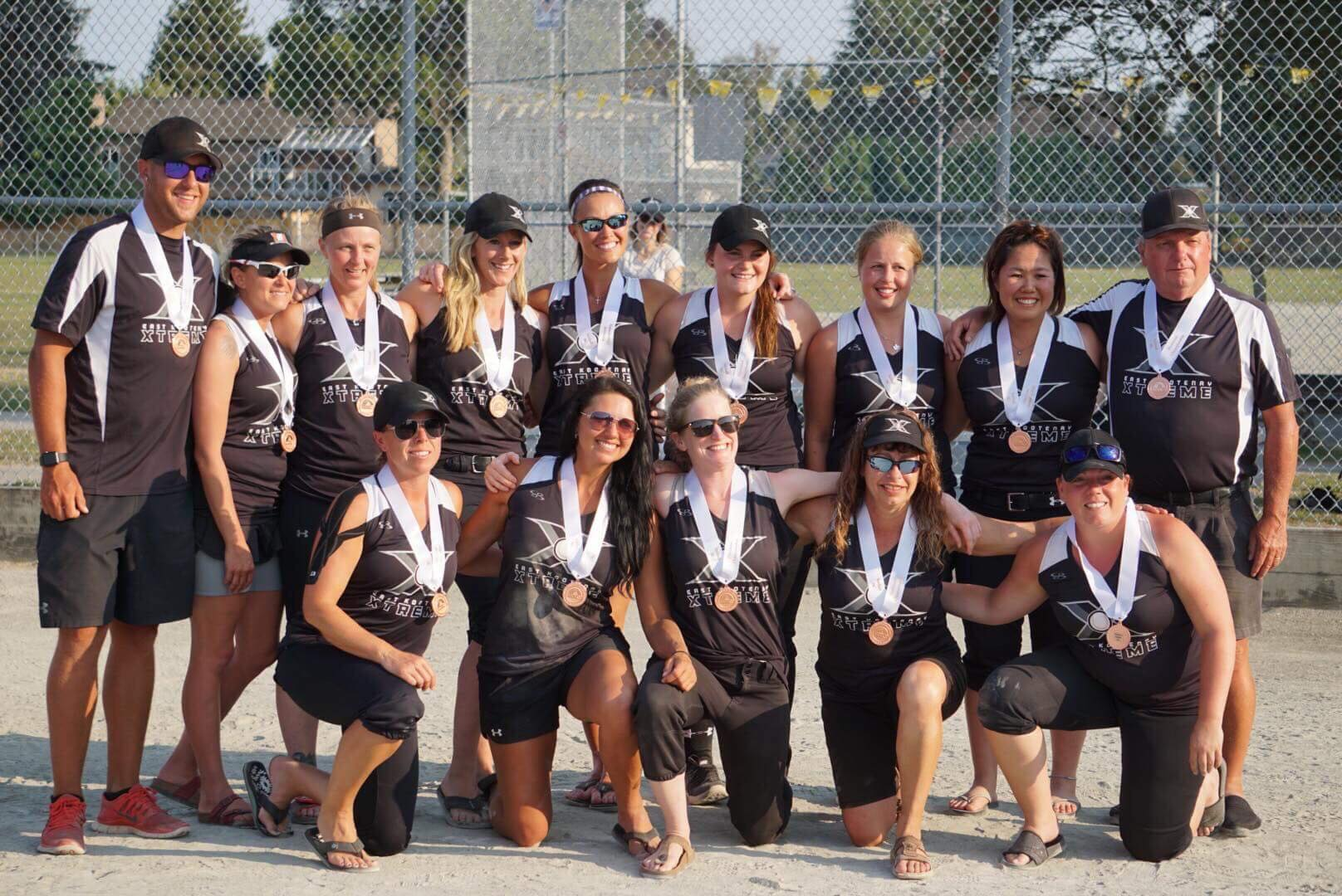 EK Xtreme earn bronze at Softball BC Senior B Championship