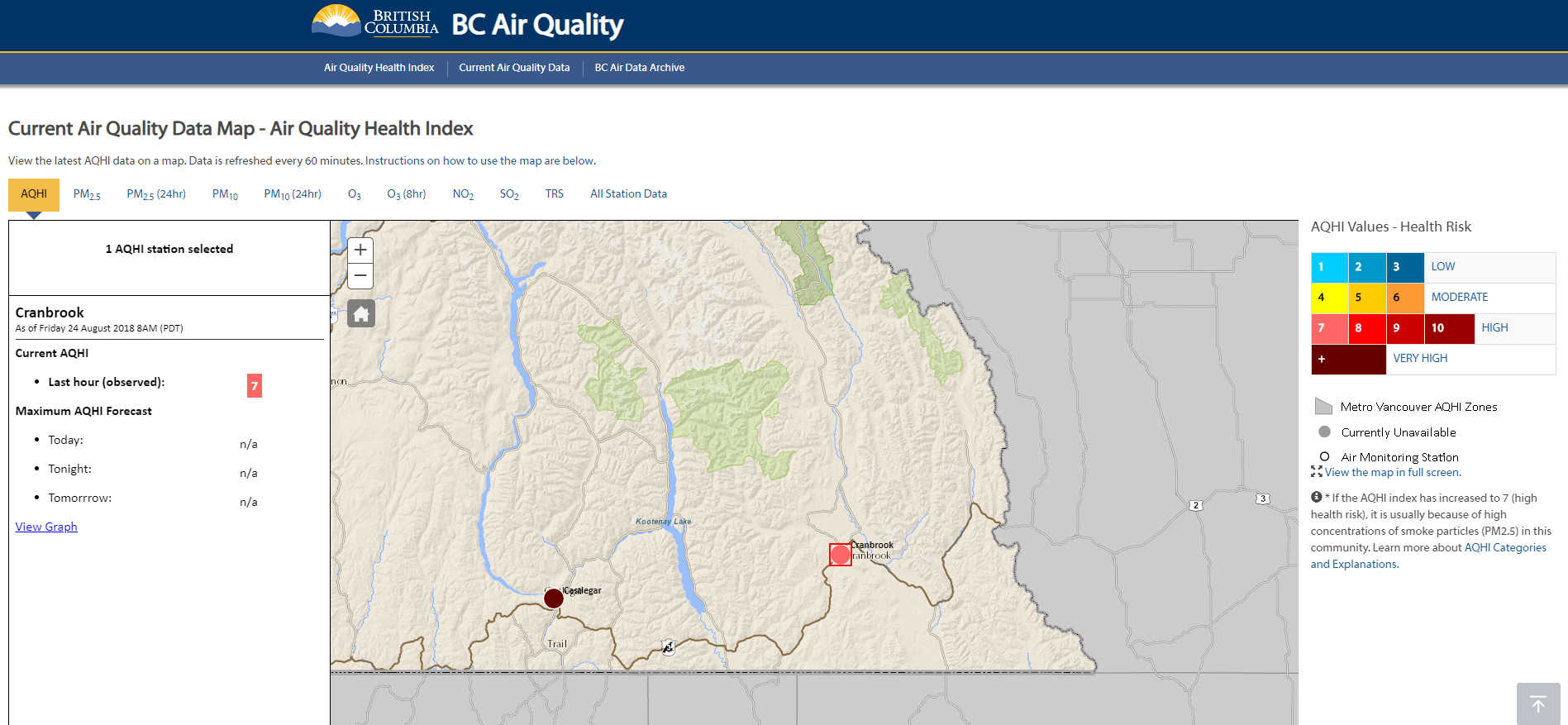 New Air Quality monitoring station installed in Cranbrook