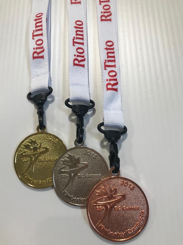 Medals arrive for Kimberley/Cranbrook BC 55+ Games