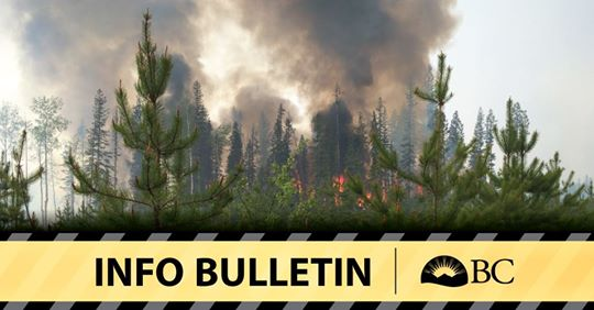 "Wildfire near Creston closes Highway 3, showing ""extreme fire behaviour"""