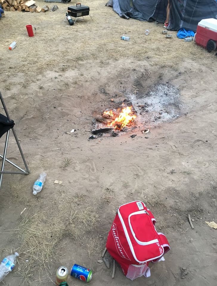 EK Conservation Officers issued four unlawful camp fire fines Friday