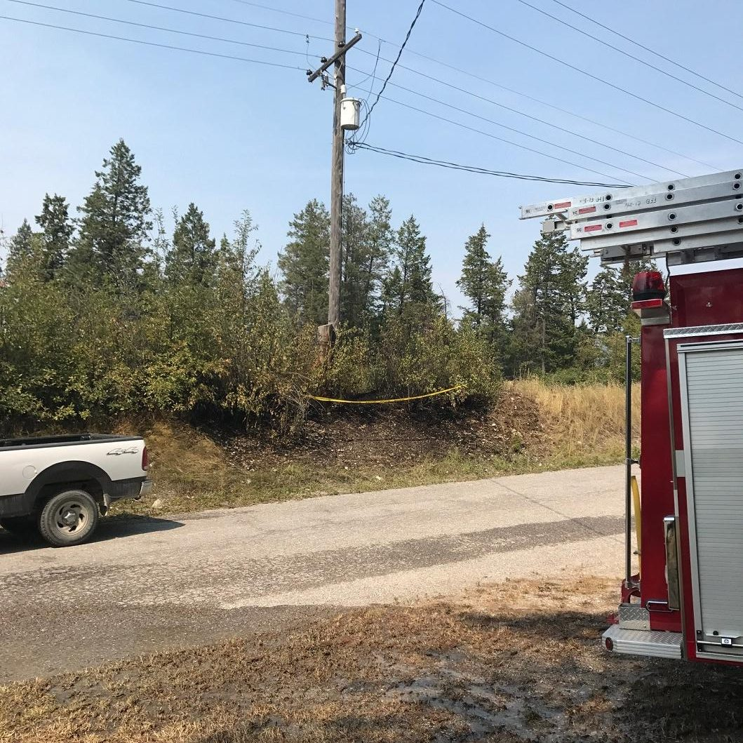 Small grass fire extinguished near Fairmont