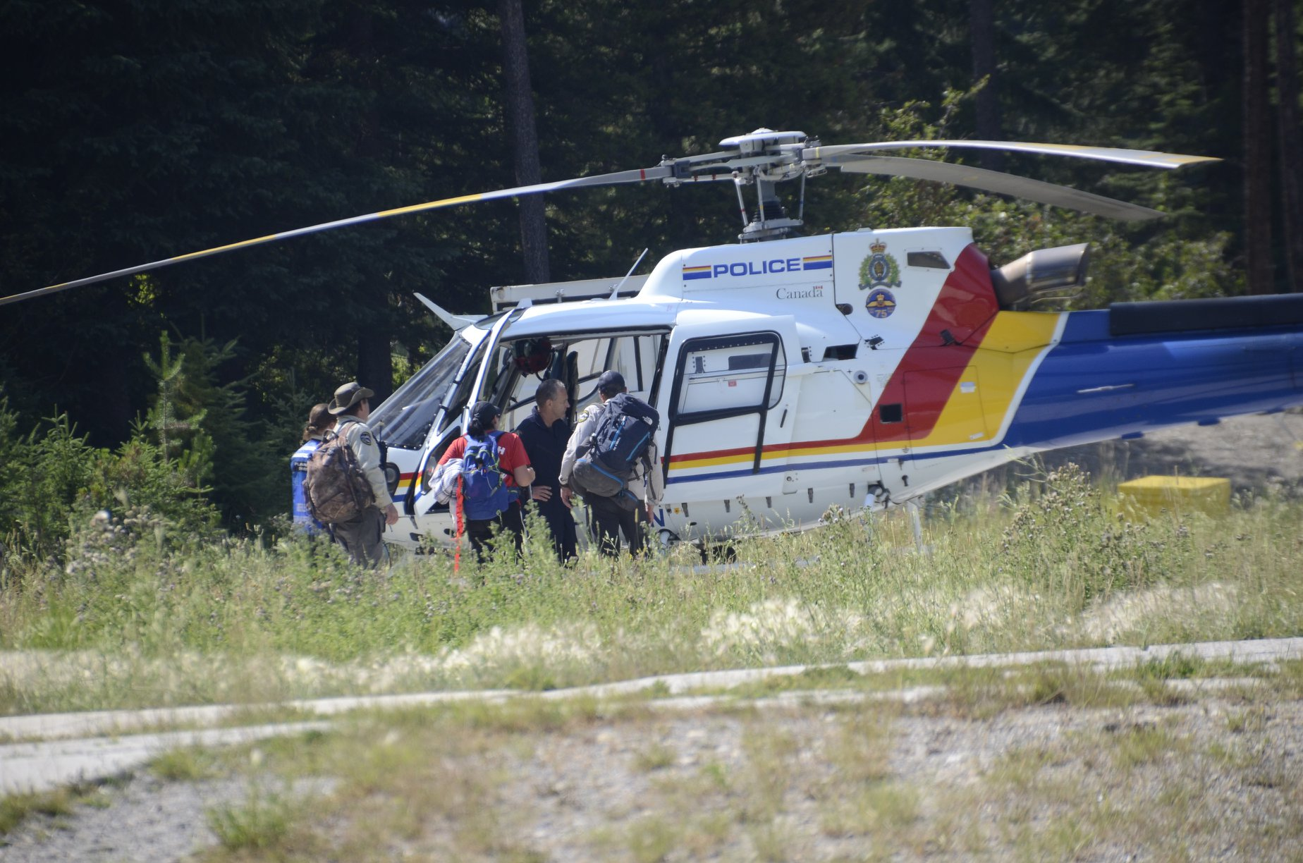 Baxter family thanks those involved in Jumbo Pass search