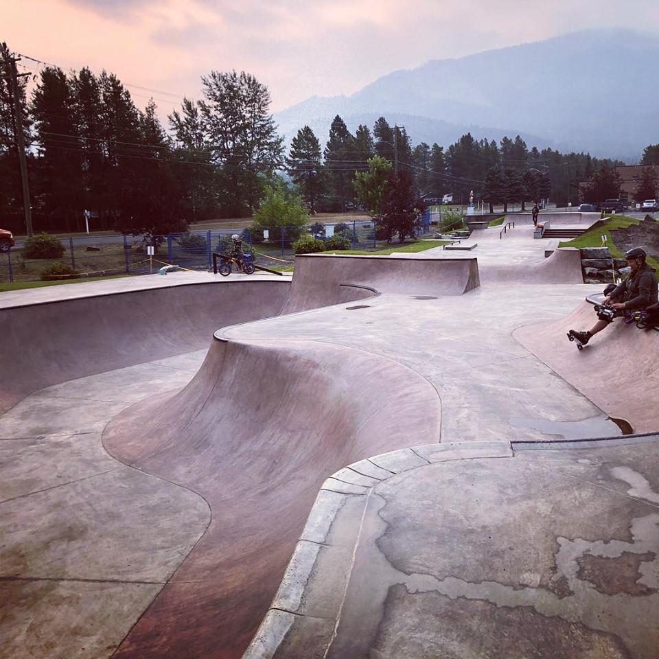 Sparwood Skatepark open for public use, grand opening September 17th