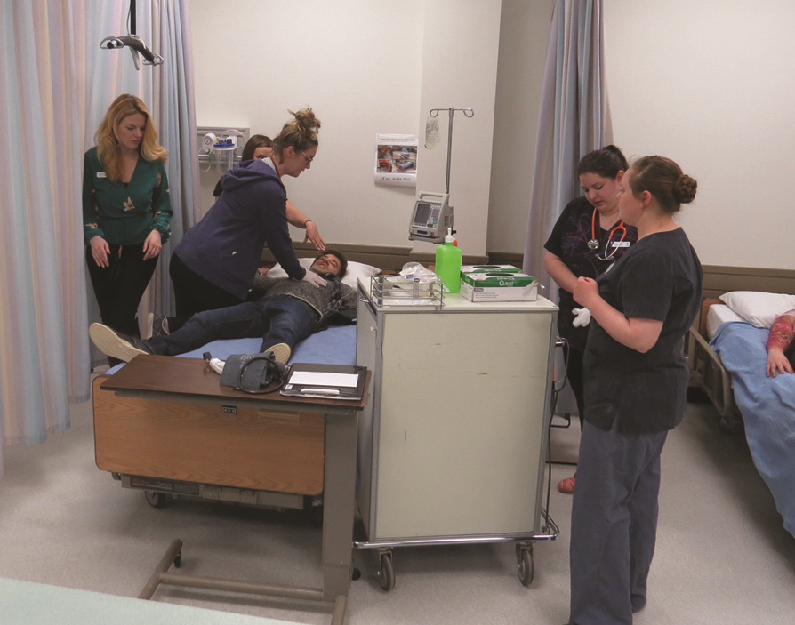 COTR welcomes fourth year nursing students to Cranbrook campus