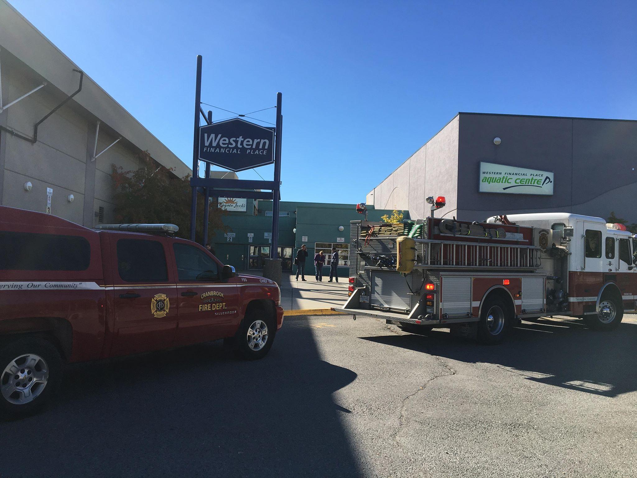 All patrons allowed inside Cranbrook's Western Financial Place following gas leak