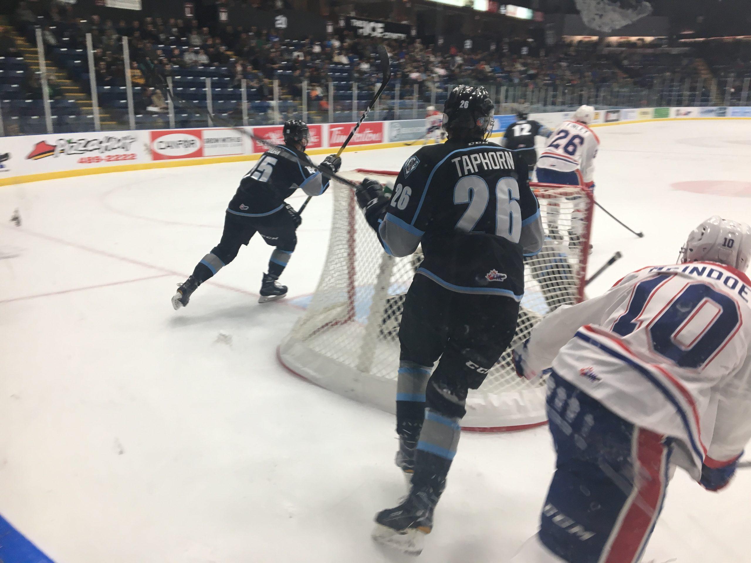 ICE fall 7-4 to Spokane despite 3rd period push