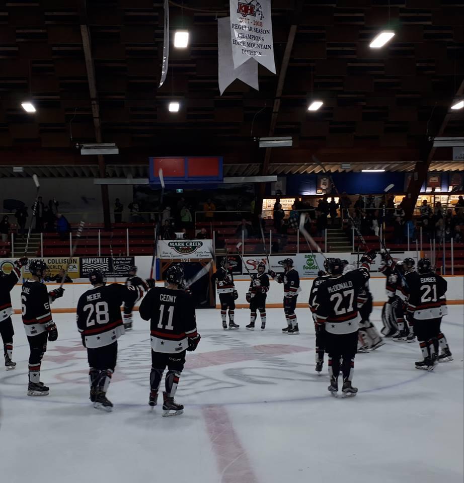 KIJHL: Nitros win weekend home games, Ghostriders shut out Castlegar