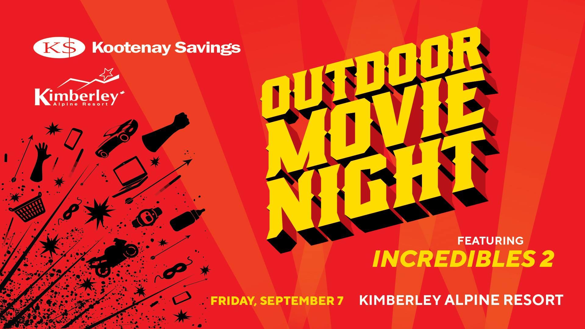 Kimberley's Outdoor Movie Night moves to Alpine Resort