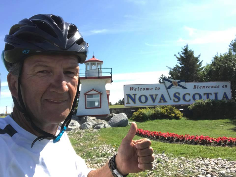 Kimberley man's cross-nation bike tour ends