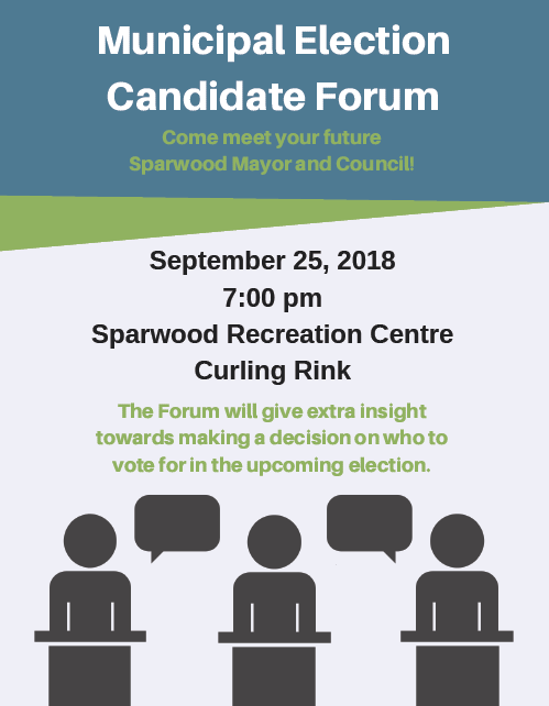 Municipal Election Candidate Forum planned in Sparwood