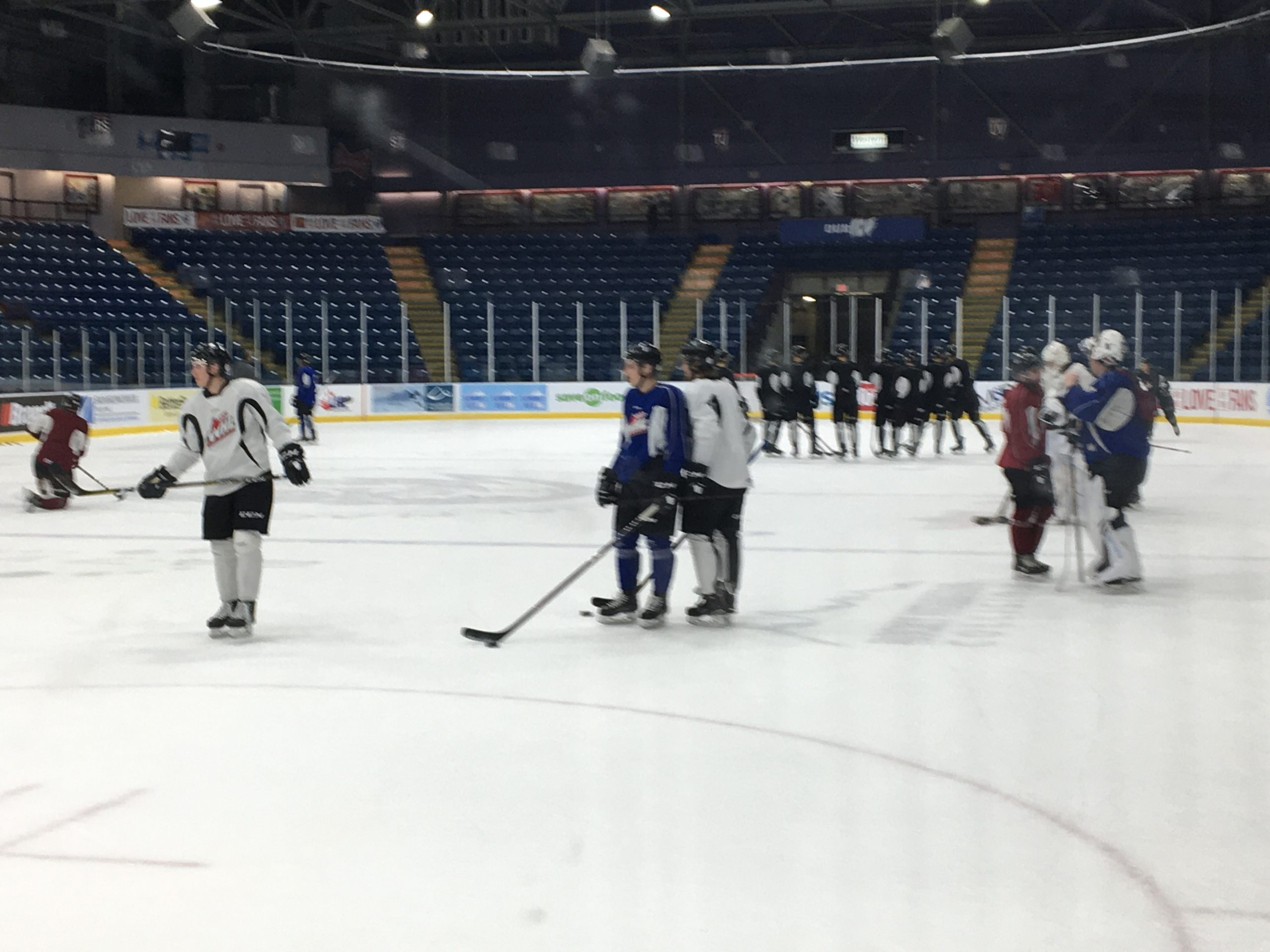 ICE prepare for tough test versus Edmonton Friday