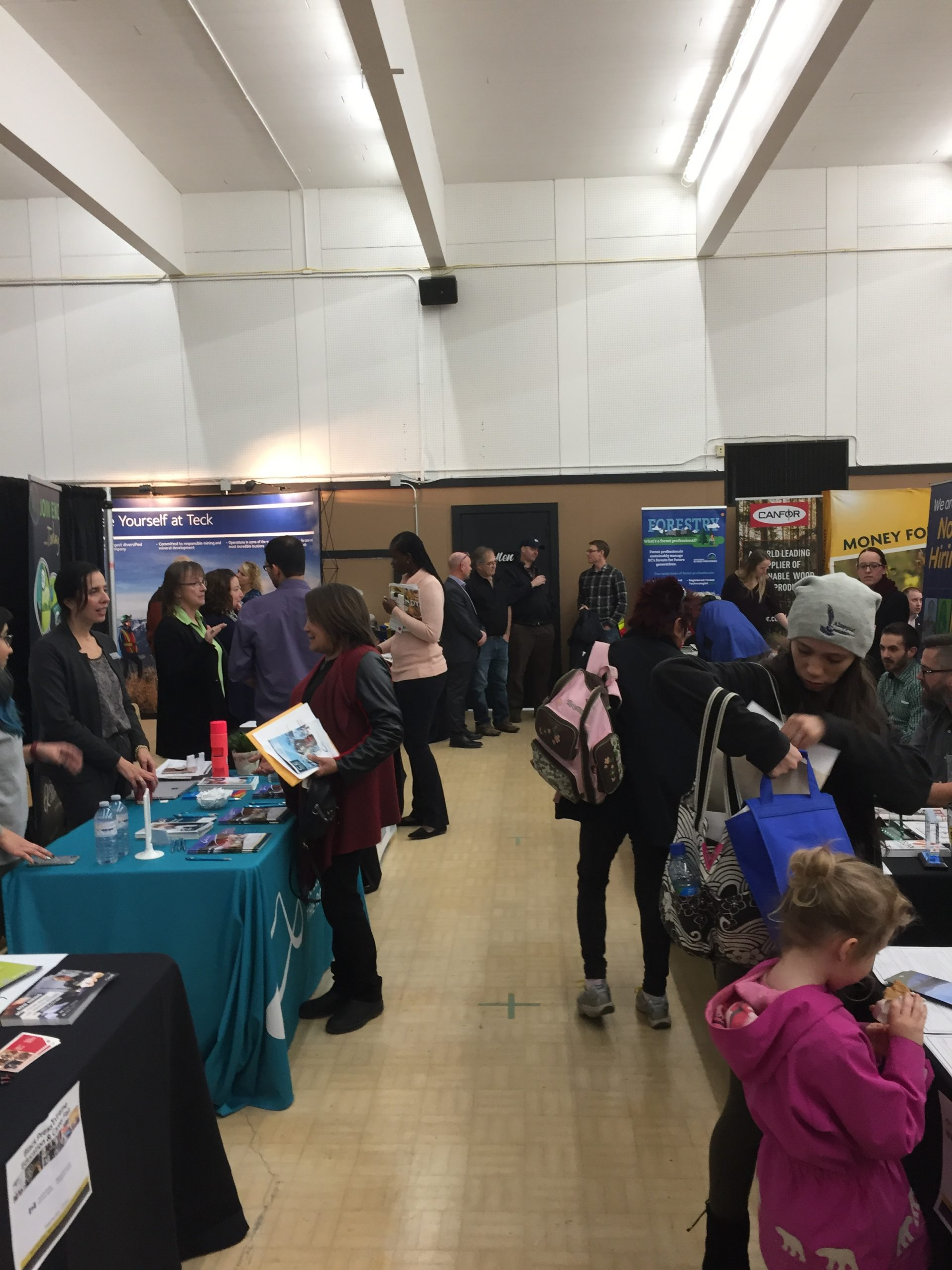 Job seekers given plenty of options at Job Fair in Cranbrook