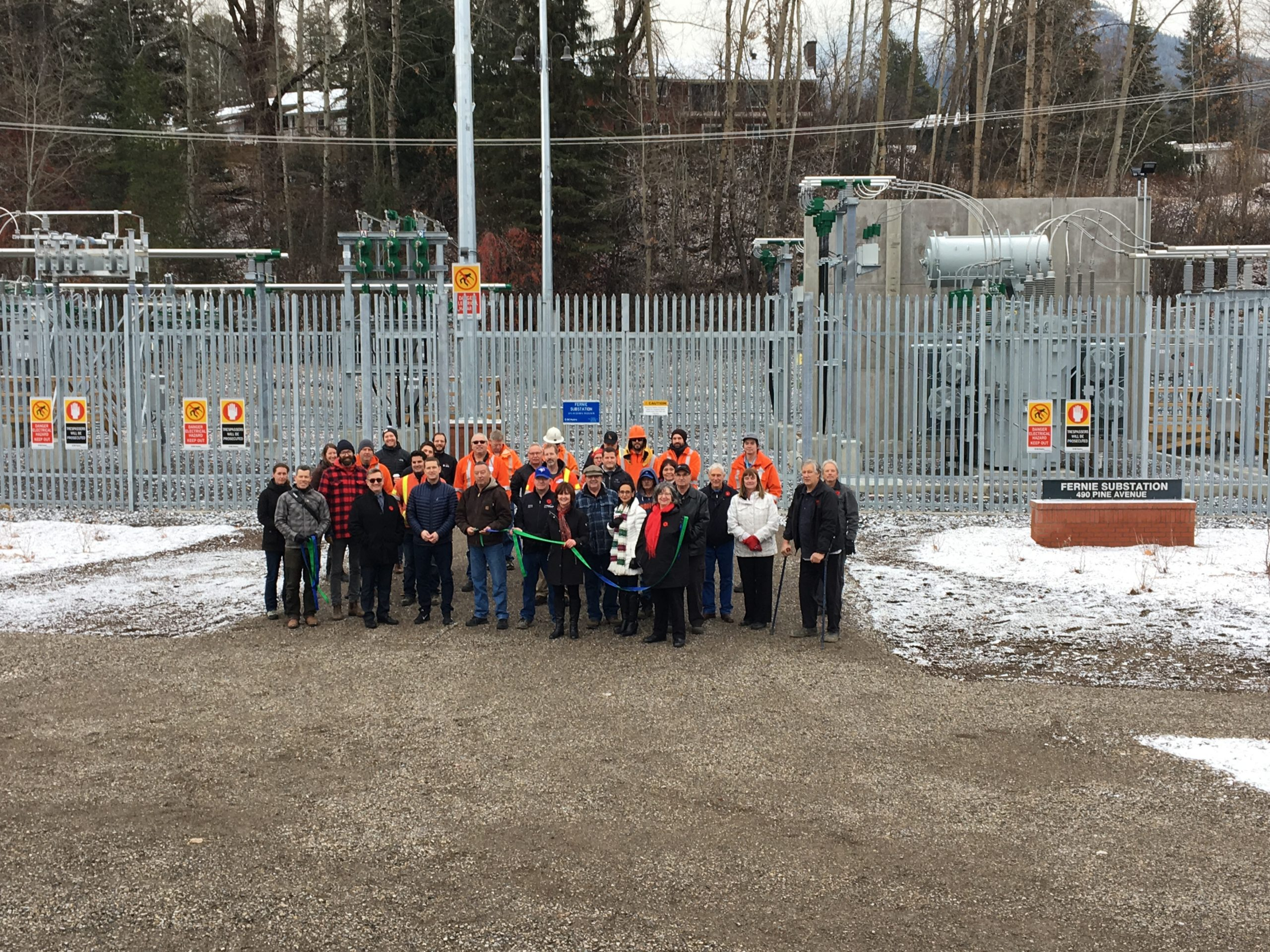 BC Hydro celebrates completion of Fernie Substation Upgrades
