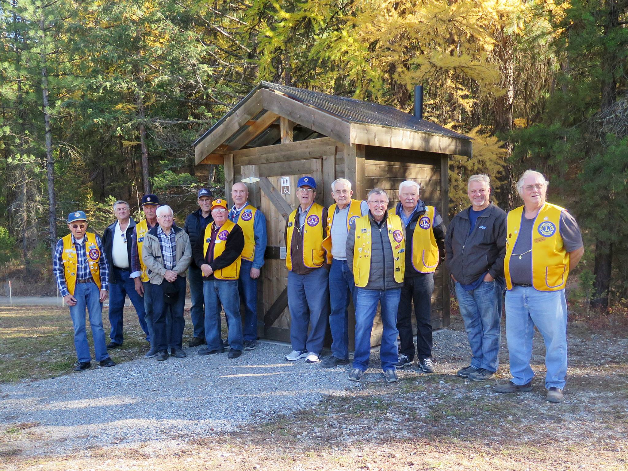 Lions Club crafts new washrooms for Wycliffe Park
