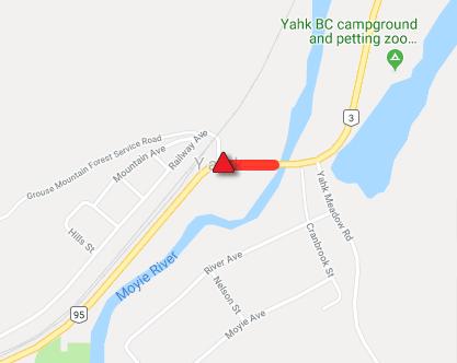 Update: Highway 3 reopens near Yahk