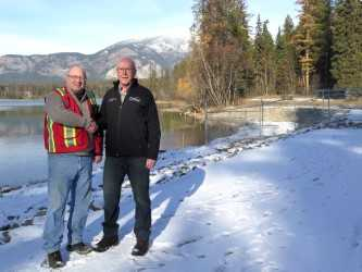 Tie Lake Dam project nears completion