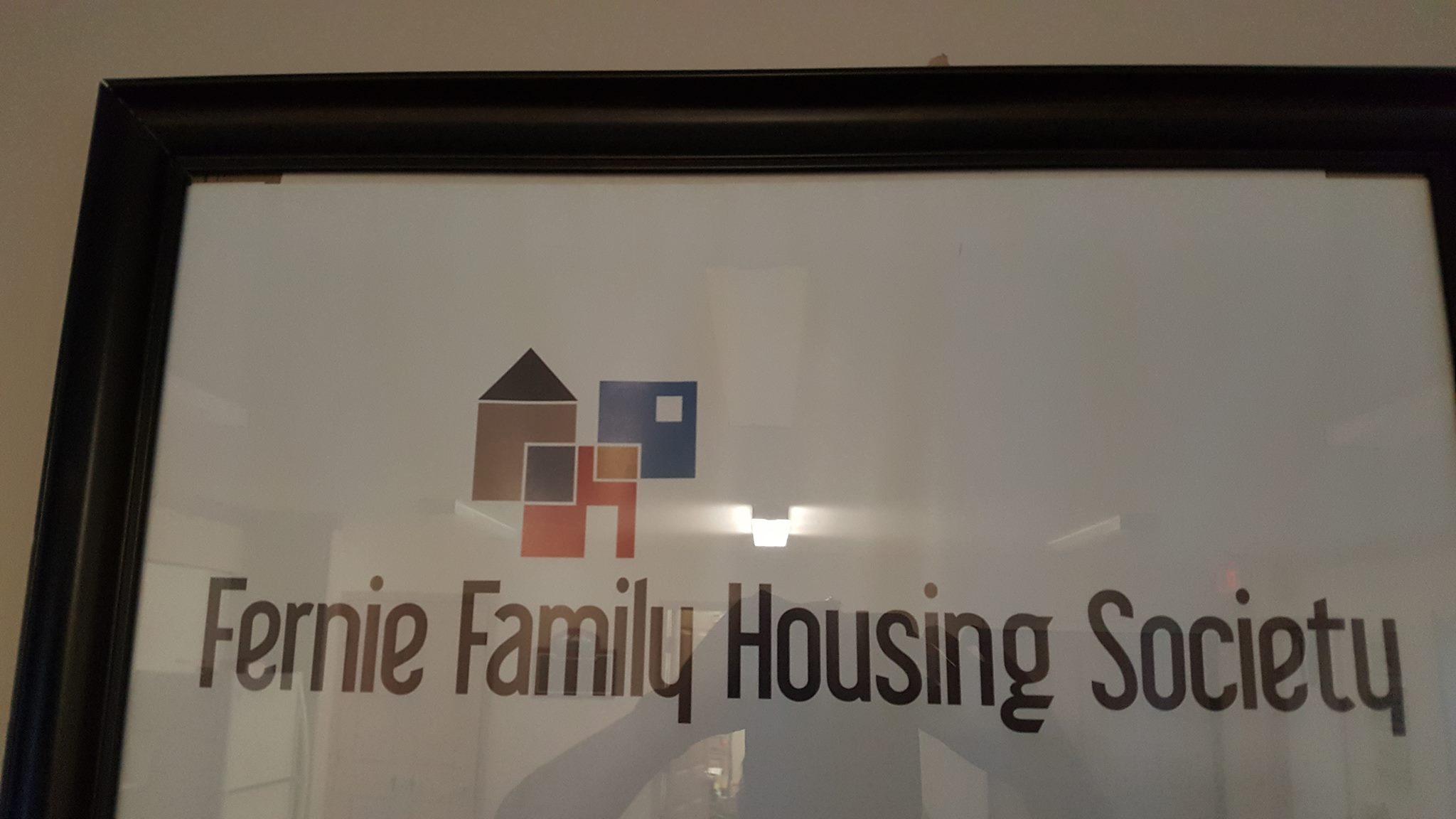 Fernie Family Housing Society begins preliminary work on new development