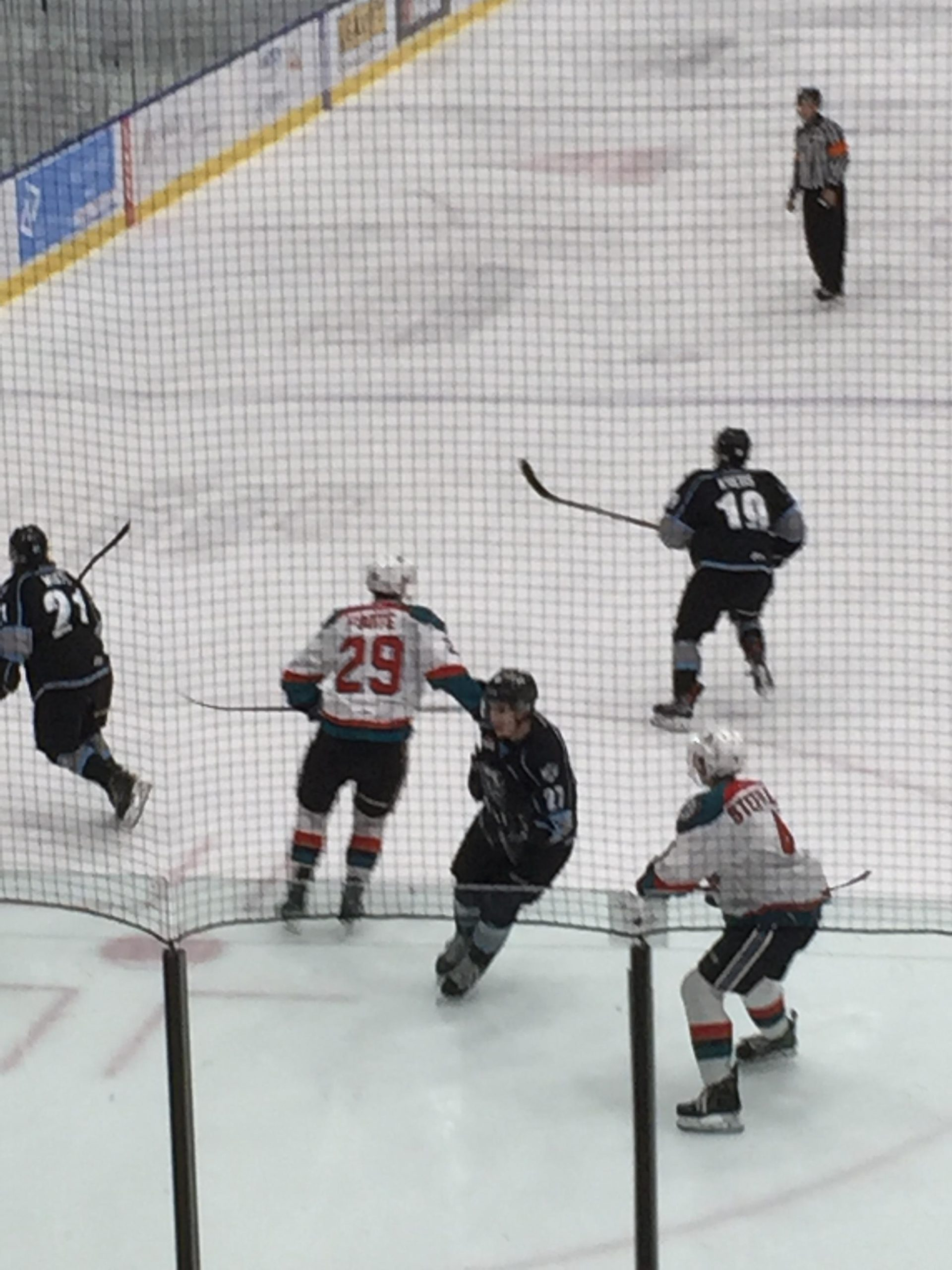 Rockets take 3-1 win over ICE