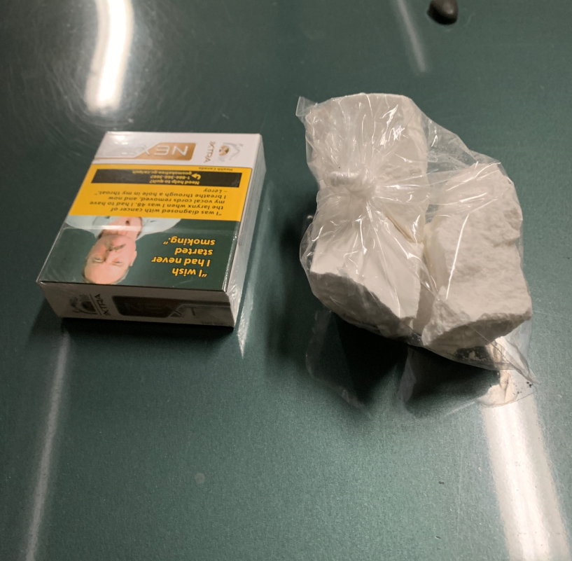 Kimberley resident arrested after cocaine found during traffic stop