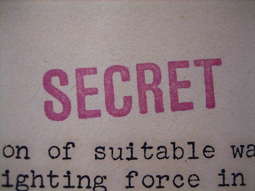 Your Spouse Might Be Keeping This Secret!  Shhhh