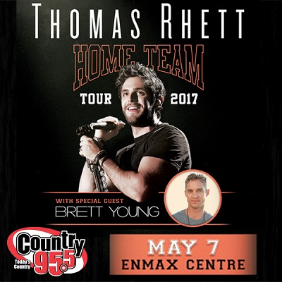 Thomas Rhett VIP Winner!
