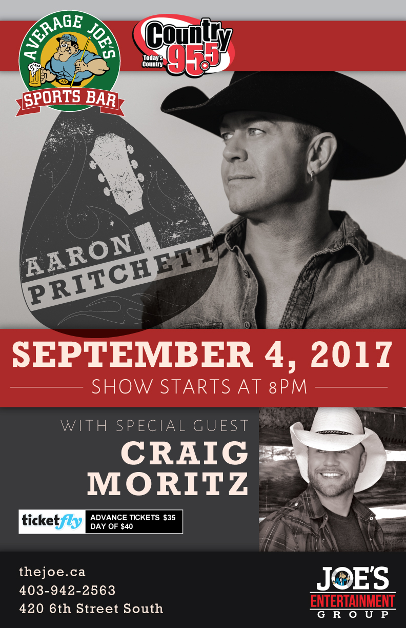 Chatting With Aaron Pritchett