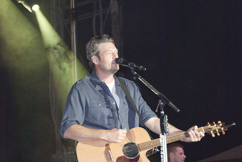 Blake Shelton's Least Favorite Song to Play Live