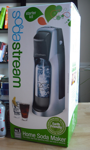 SodaStream Turning Water Into Sparkling Wine!