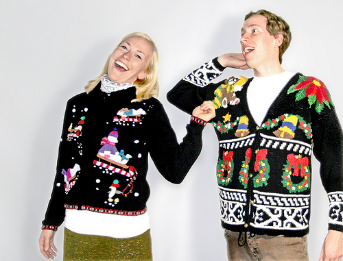 Ugly Christmas Sweater Upgrade