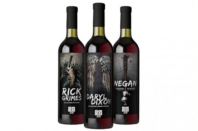 Pour Yourself a Glass of Walking Dead Rick Grimes Wine