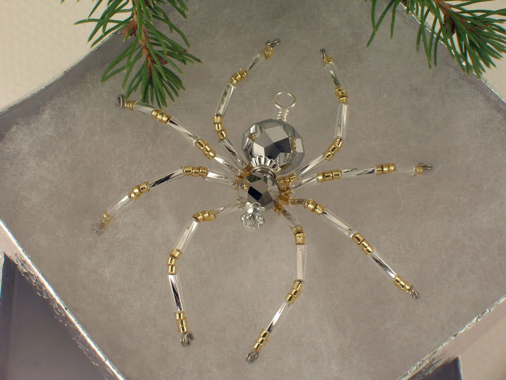 People Are Putting Spider Ornaments on Their Christmas Trees